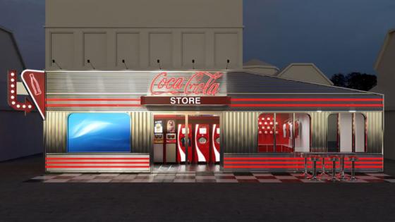 Här öppnar Nordens första Coca Cola Store