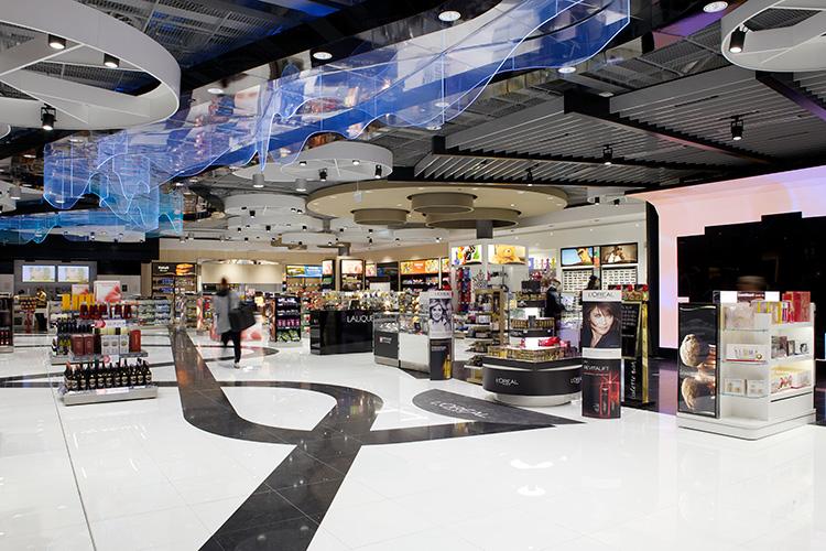 Mer retail på flygplatsen