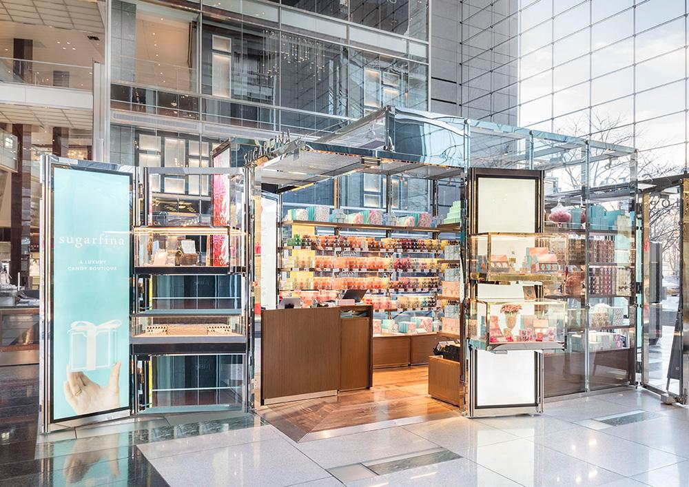 Flexibelt ramverk för pop up-butiker
