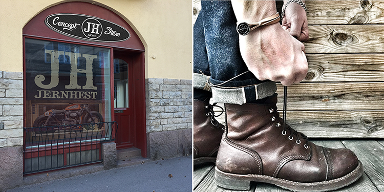 Jernhest öppnar sin första butik