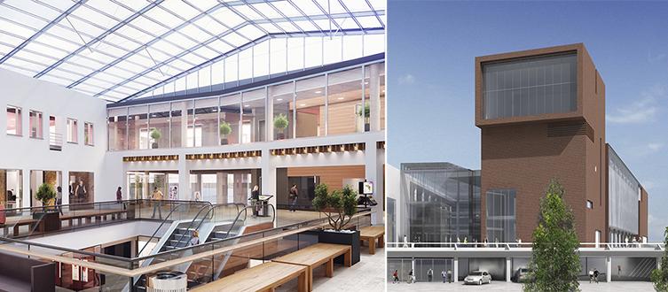 Köpcentrum förses med gigantiskt periskop