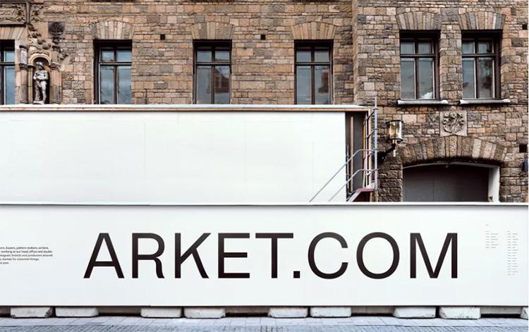 Här öppnar Arket i Stockholm