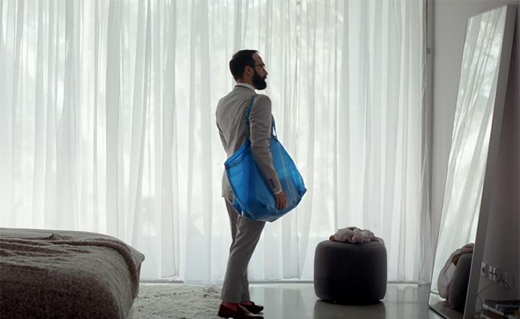 Ikea hyllar sin blå trotjänare