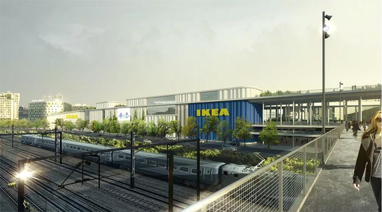 Här öppnar Ikea i centrala Köpenhamn