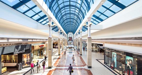 Köpcentrum konverteras till stadskärnor