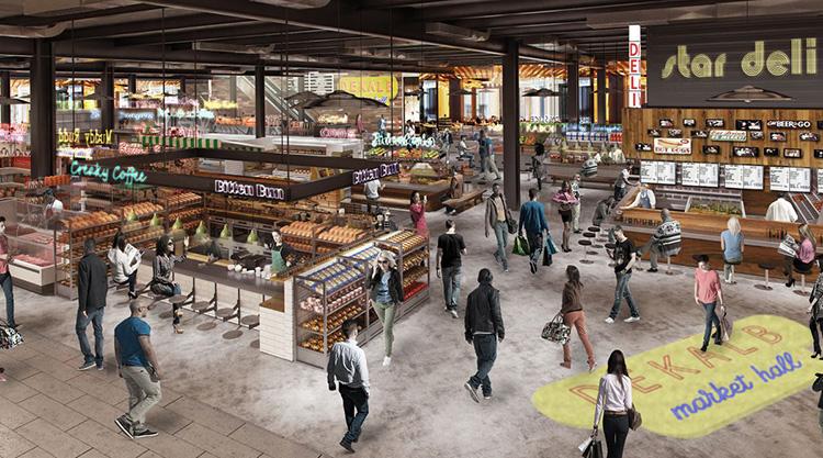Food halls är det nya ankaret