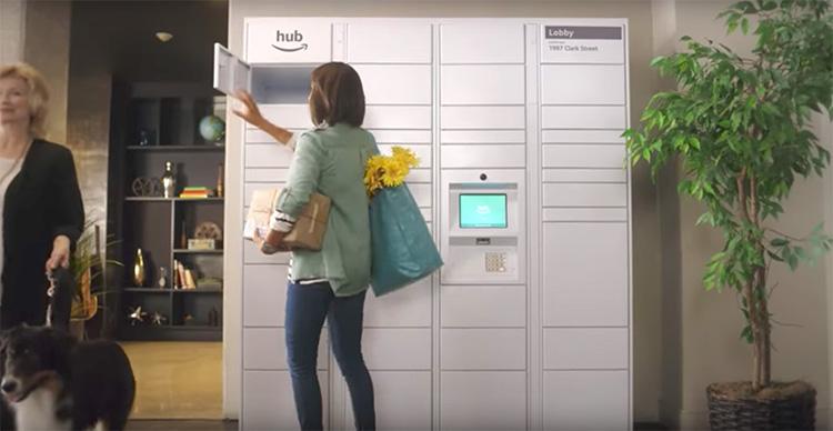 Amazon skapar hubb för alla paket
