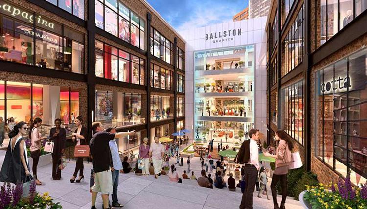 Köpcentrumets framtid skymtas i renoveringar