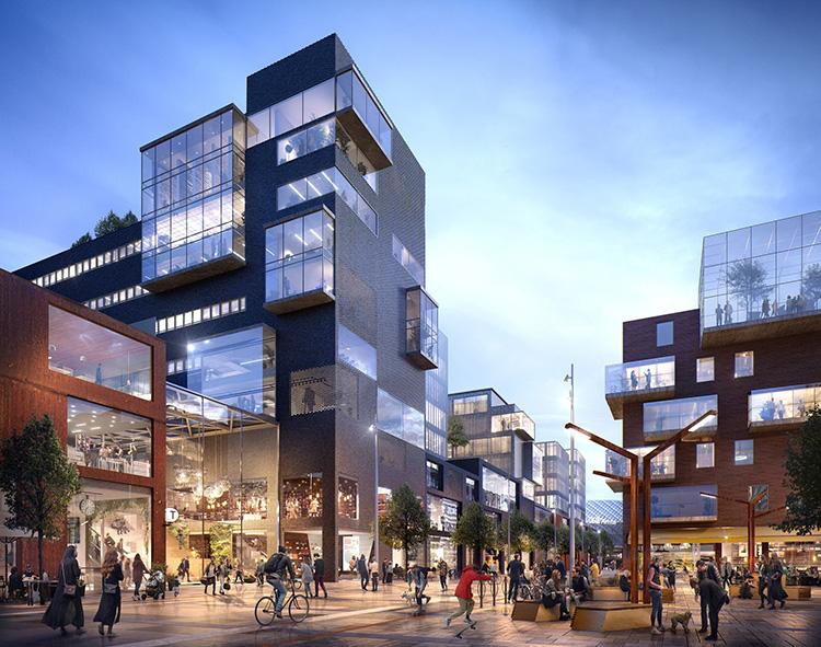 Avtal om utveckling av Globen Shopping