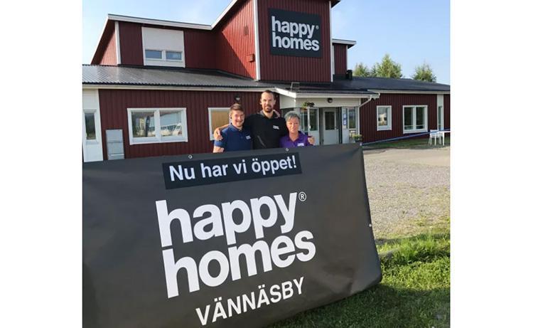 Happy Homes har öppnat i Vännnäsby