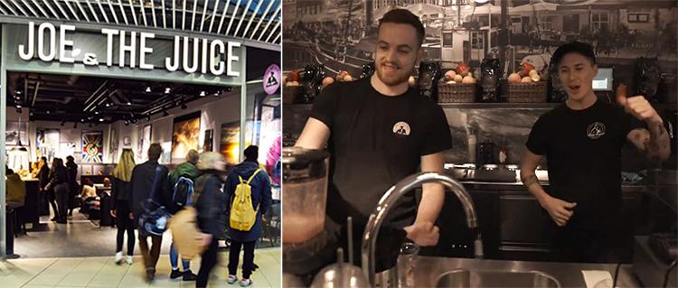 Joe & The Juice ger sig ut i världen