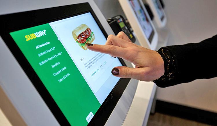 Subway lanserar nytt digitalt butikskoncept