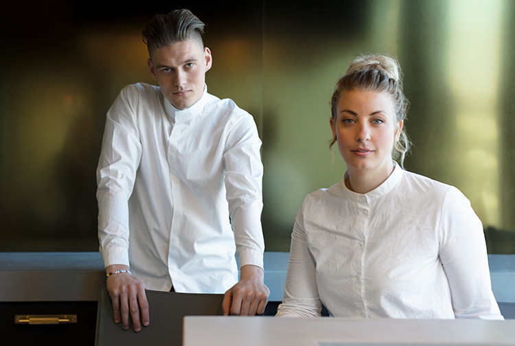 Nordisk teppanyaki för åtta