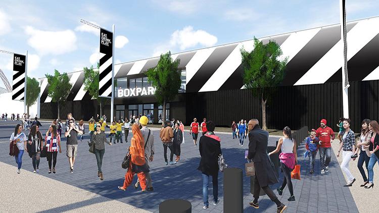 Här öppnar ett nytt uppdaterat Boxpark