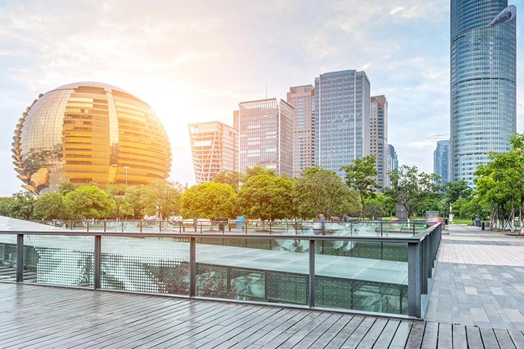 Här bygger Alibaba framtidens köpcentrum