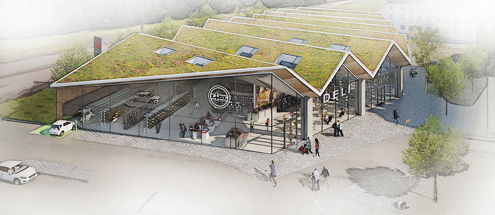 Här är Lidls senaste hållbara butikskoncept