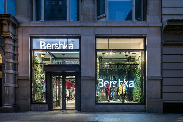 Här gör Bershka butiksentré med pop up