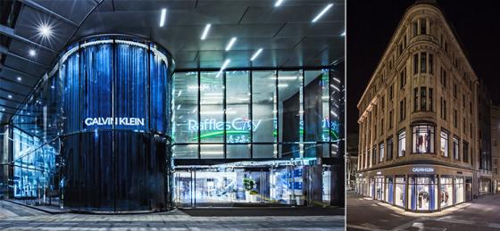 Här öppnar Calvin Klein nya flaggskepp