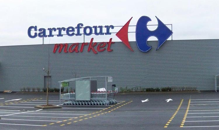 Carrefour låter grannen leverera