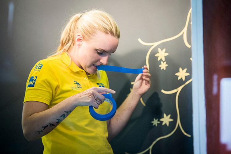 Johanna tog fjärdeplats i yrkes-VM