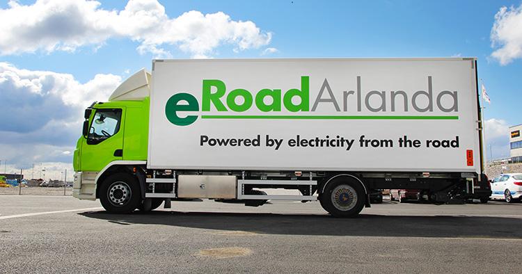 Nu rullar Sveriges första batteridrivna lastbil