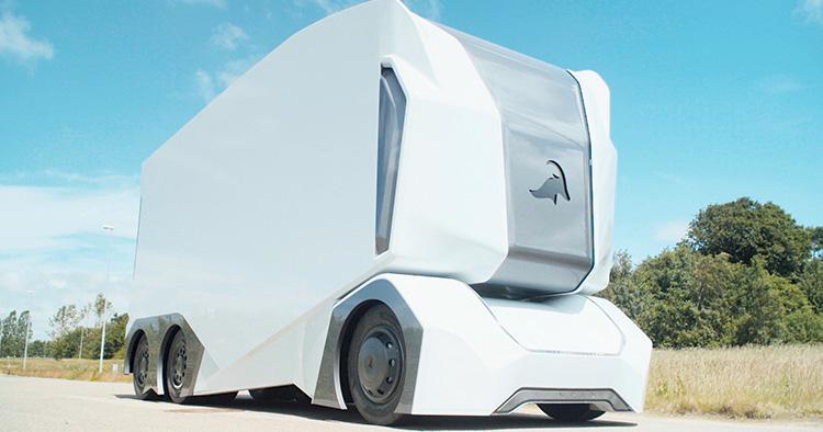 Lidl Sverige testar självkörande lastbilar