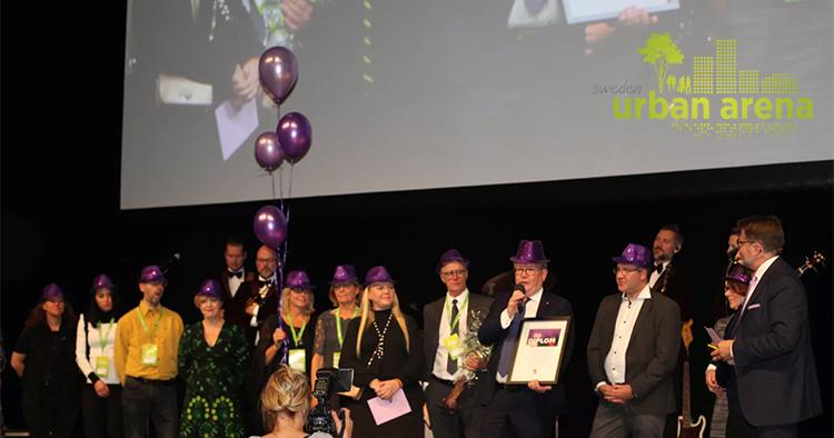 Västerås Årets Purple Flag-stad 2017