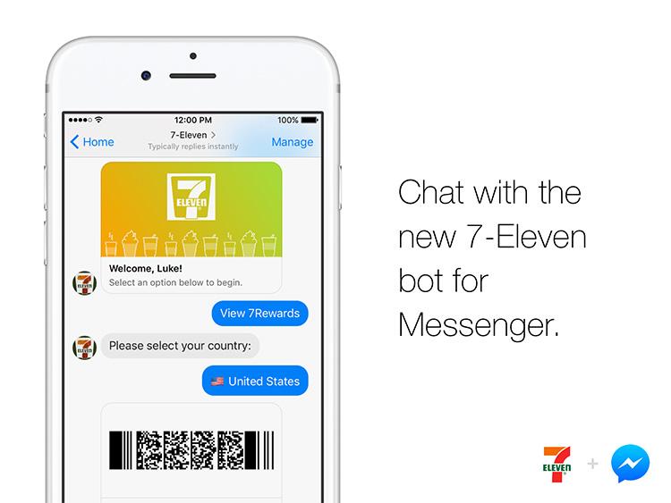 Service 24/7 med 7-Elevens chatbot