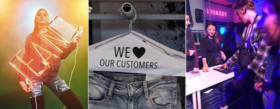 Gratis tvätt och personalisering i butik