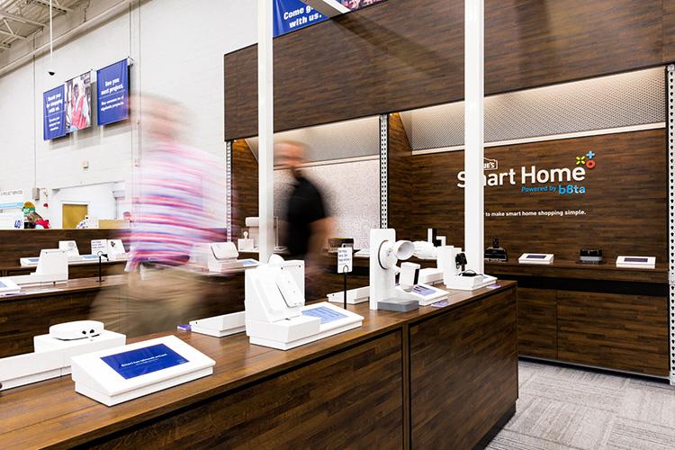 Det smarta hemmet trendar i butik