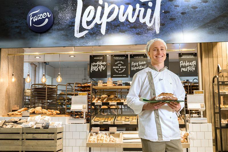 Världens första insektsbröd för matbutiker