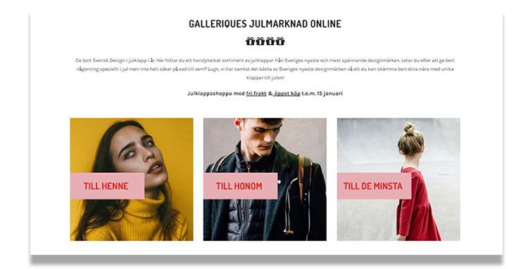 Galleriques.com öppnar digital julmarknad