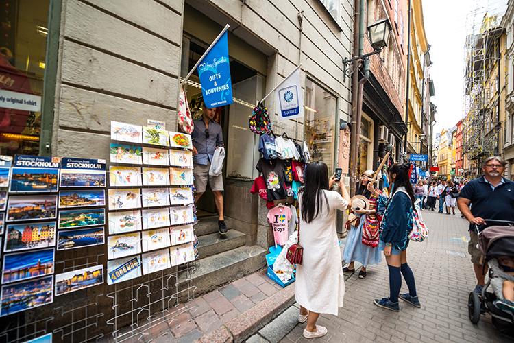 Svensk shoppingturism ökar kraftigt