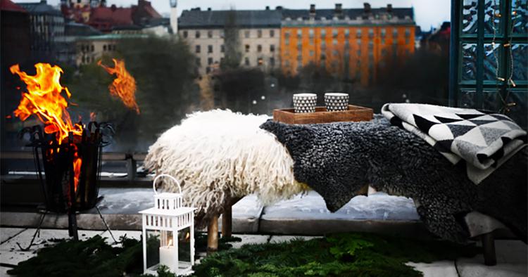 Skönt häng på Stockholms högsta julmarknad