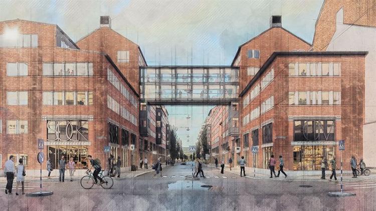 Historiska industrikvarter utvecklas