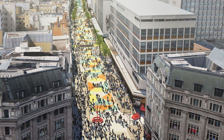Så ska Oxford Street bli gågata