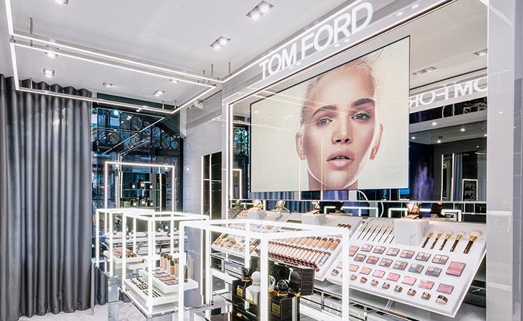 Butikspremiär för Tom Ford Beauty