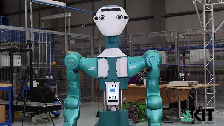 Ny robot ger en hjälpande hand på lagret