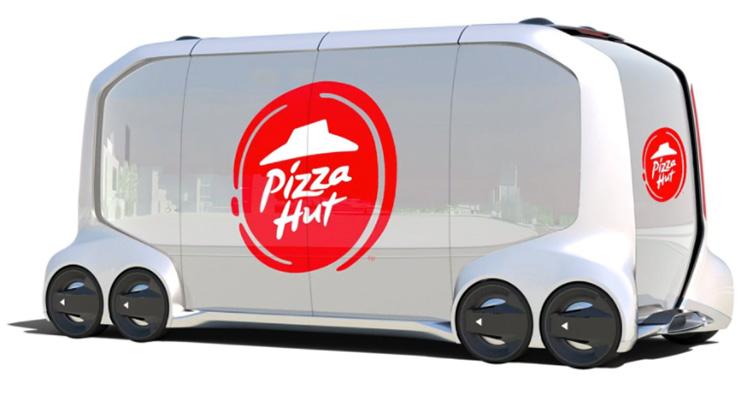 Toyota levererar förarlöst åt Pizza Hut
