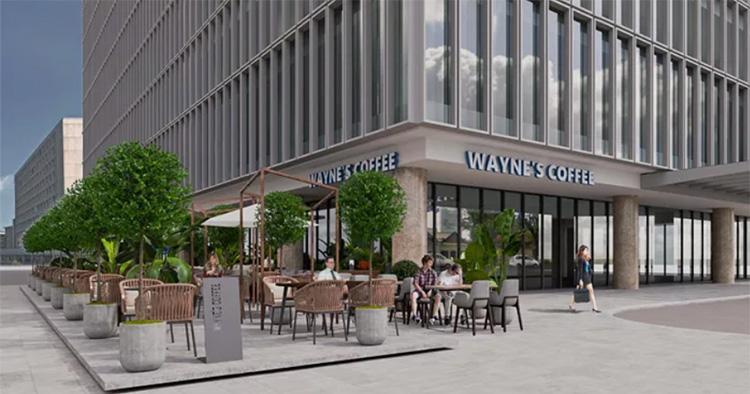 Wayne's Coffee etableras i Vietnam