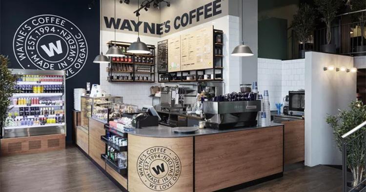 waynes coffee mall of scandinavia