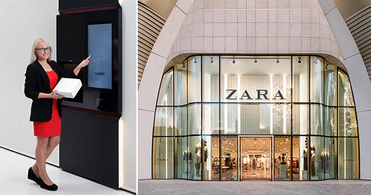 Zara lanserar AI-baserad självbetjäning