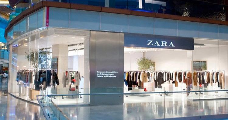 Här är Zaras digitala framtidsbutik