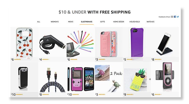 Amazon lanserar ny fyndbutik