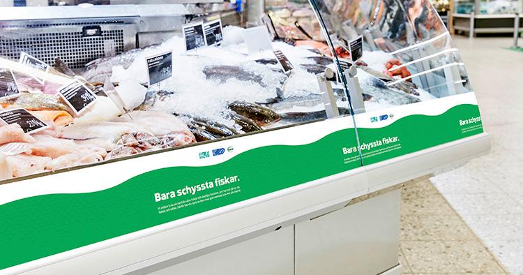 Coop har hållbarhetsmärkt sina fiskdiskar