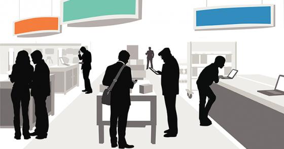 Stora digitala möjligheter för fysiska butiker