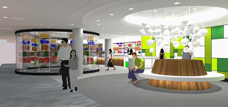 Köpcentrum öppnar museihybrid