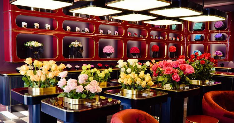 Bara rosor i nostalgisk boutique