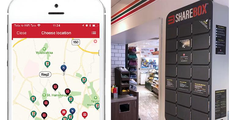 Smart överlämning hos 7-Eleven