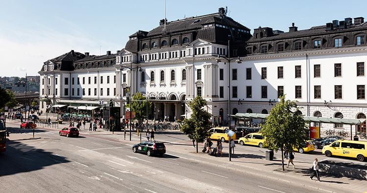 Besöksflöden mäts på Centralstation